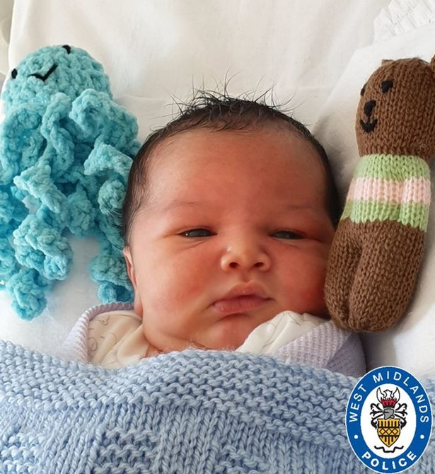 Baby 'George' was left in The Mound park in King's Norton