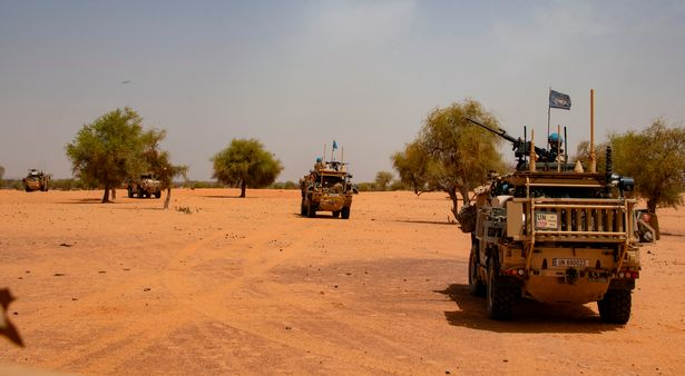 It is all worth it, as the peacekeeping troops' presence keeps the jihadists out