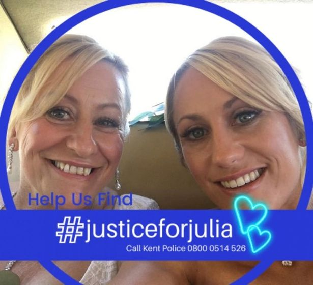Julia's family have called on the public to help in their search for justice