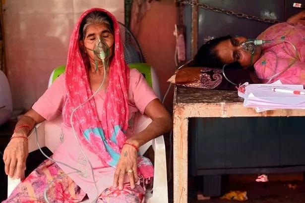 0 INDIA HEALTH VIRUS OXYGEN