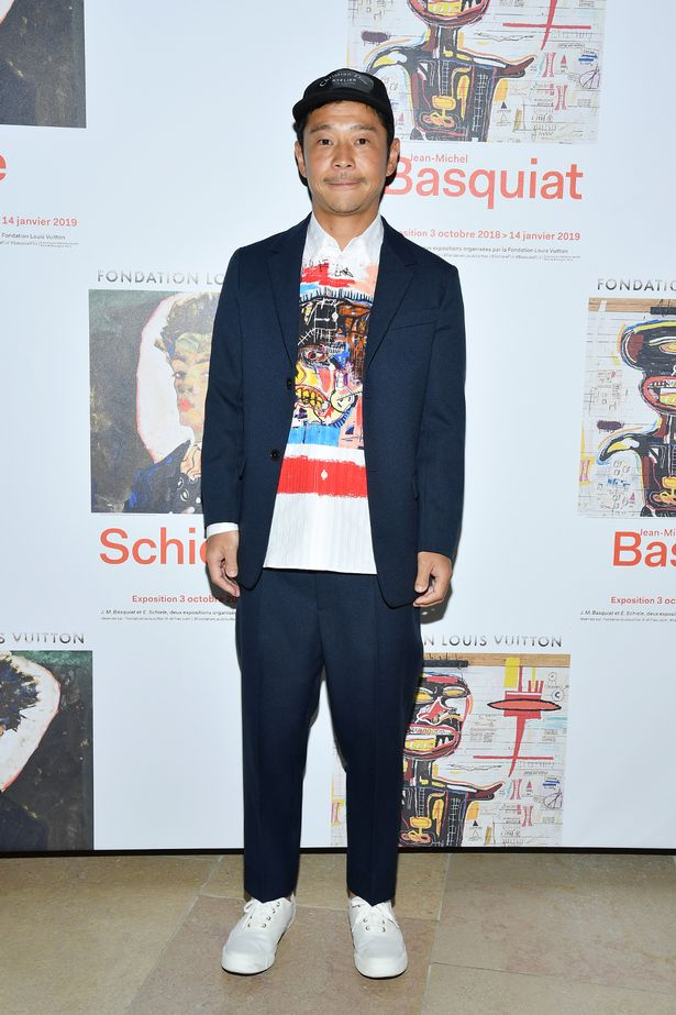 PARIS, FRANCE - OCTOBER 01: Yusaku Maezawa attends the Opening Of The New Exhibitions Jean-Michel Basquiat And Egon Schiele At The Fondation Louis Vuitton at Fondation Louis Vuitton on October 1, 2018 in Paris, France. (Photo by Pascal Le Segretain/Getty Images)
