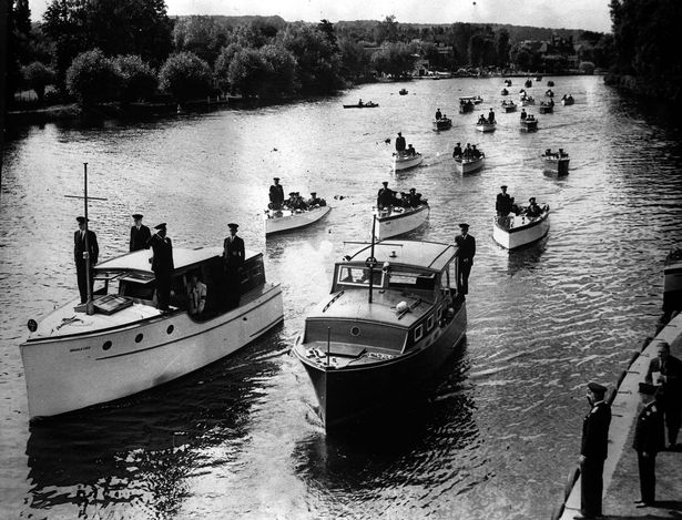 The Upper Thames patrol pictured in July 1940 after their efforts at Dunkirk