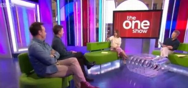 Ant and Dec appeared on The One Show to talk about their new program to help young people find jobs in the media industry