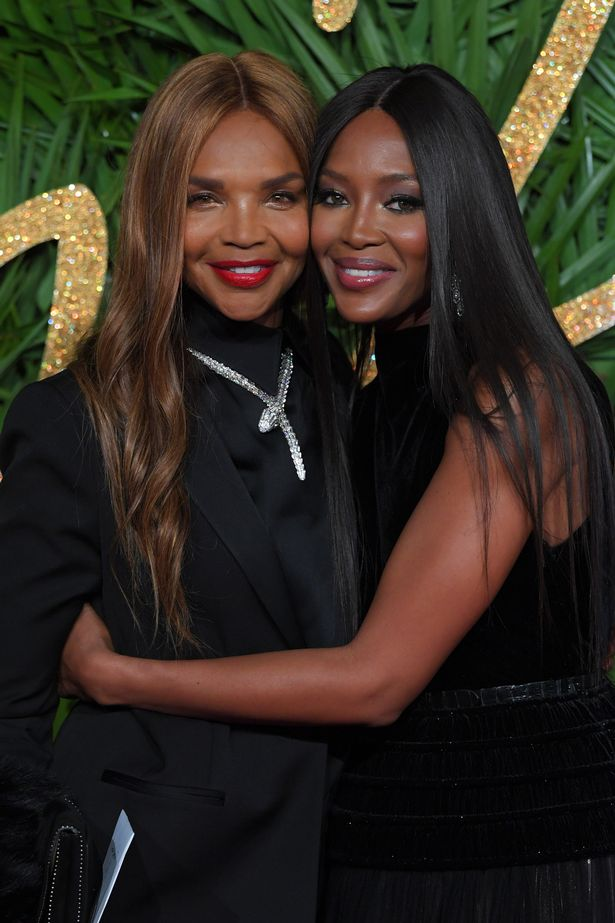 Naomi Campbell and mother Valerie Morris