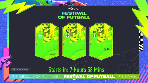 The first FUT 21 loading screen featured three unconfirmed Festival of FUTball players