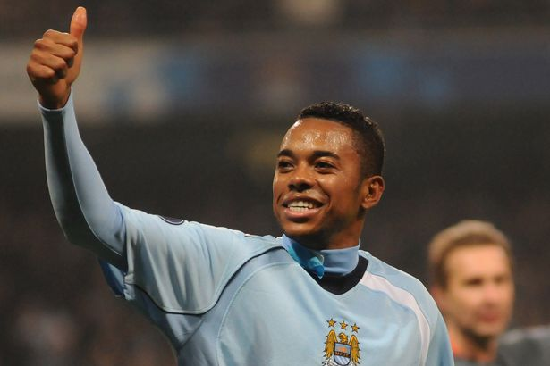 Robinho was City's marquee signing in 2008
