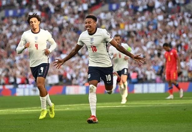 Lingard struck twice in England's 4-0 win over Andorra last month