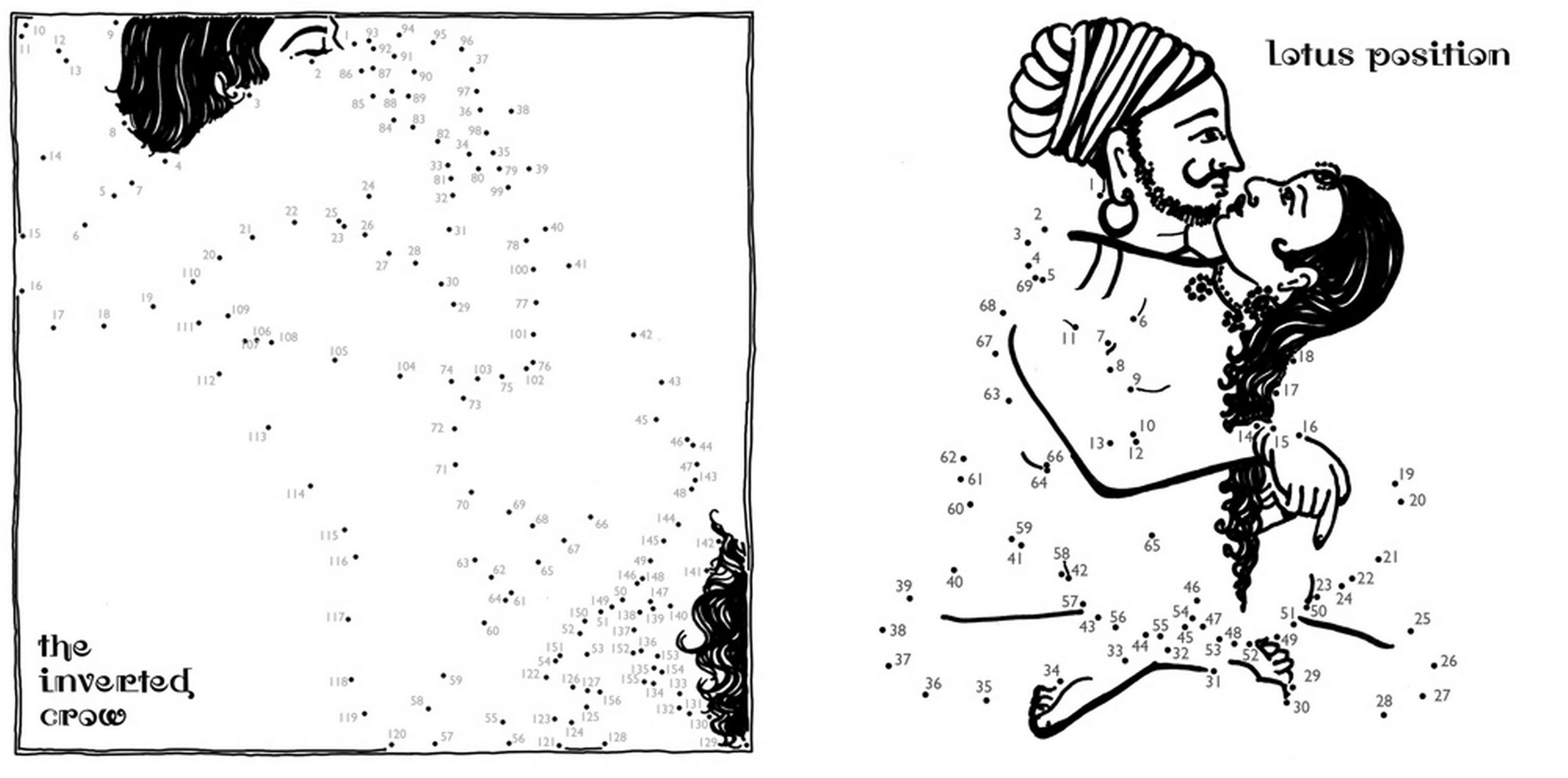A new dot-to-dot version of the ancient Kama Sutra sex