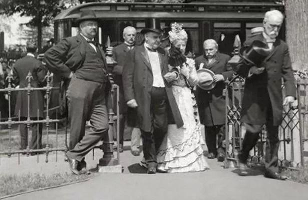 President William McKinley and First Lady Ida McKinley