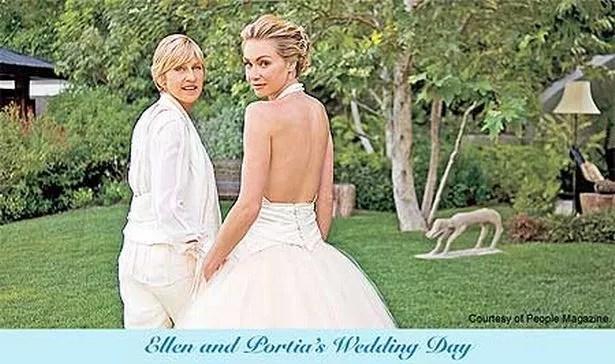 Ellen DeGeneres Writes Wedding Message To Fans