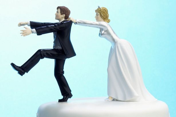 Image result for black man running away from his bride