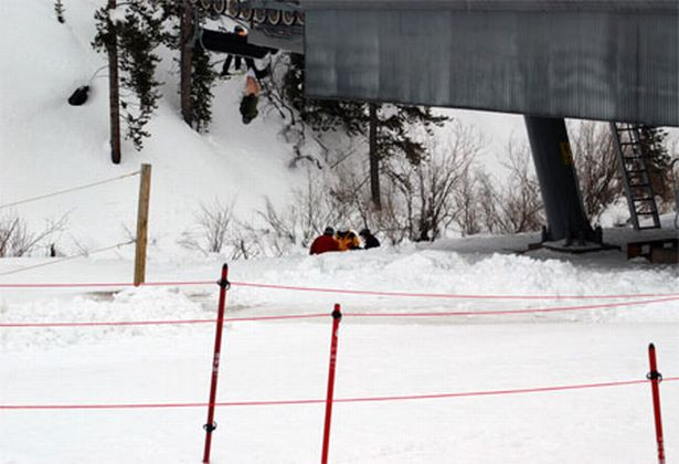 Naked skier caught with his pants down after chairlift mishap  Mirror Online