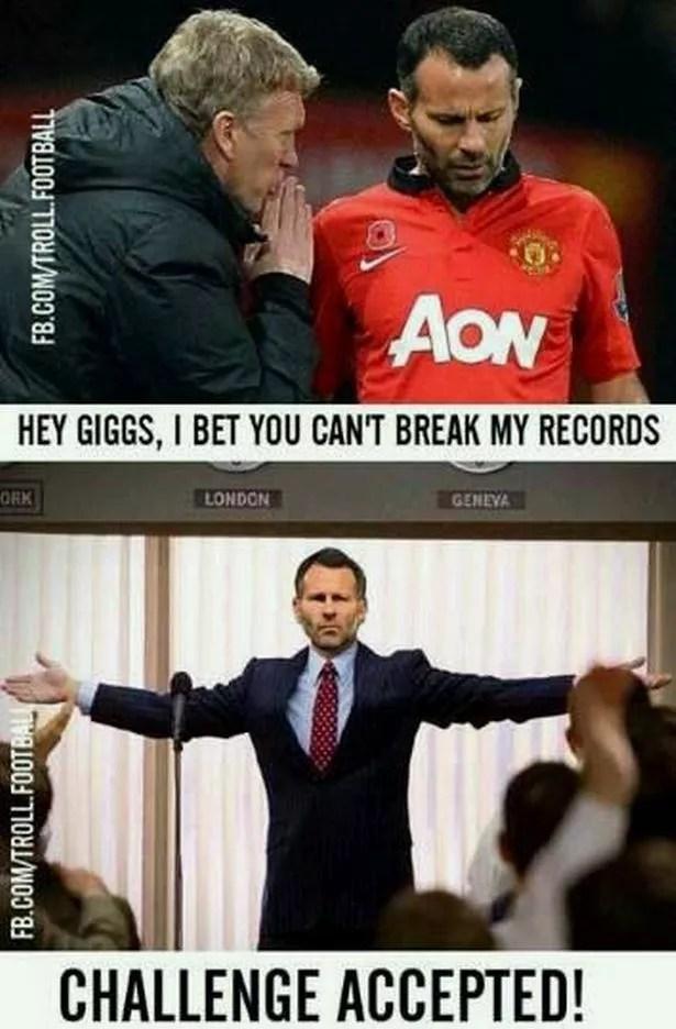 The best memes as Louis van Gaals Manchester United crash