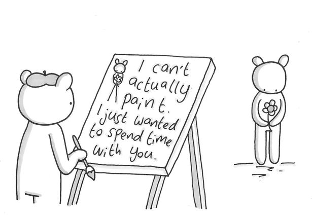 Tissues at the ready, these sad drawings will break your