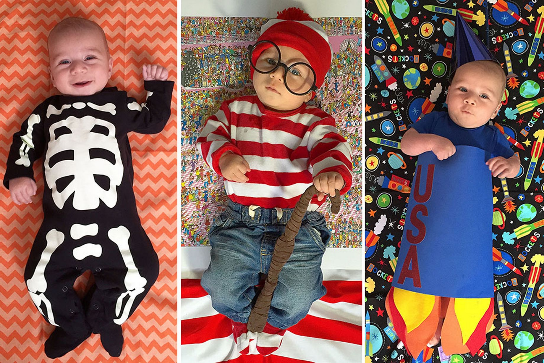 Mum Dresses 4 Year Old Son In Halloween Costume Every Day