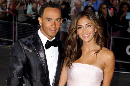 Nicole Scherzinger prays for boyfriend Lewis Hamilton for ...