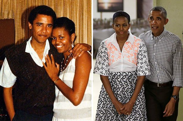 Barack And Michelle Obama Hark Back To Festive Past With