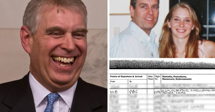 Prince Andrew flew on paedo Jeffrey Epstein's private 'sex' jet
