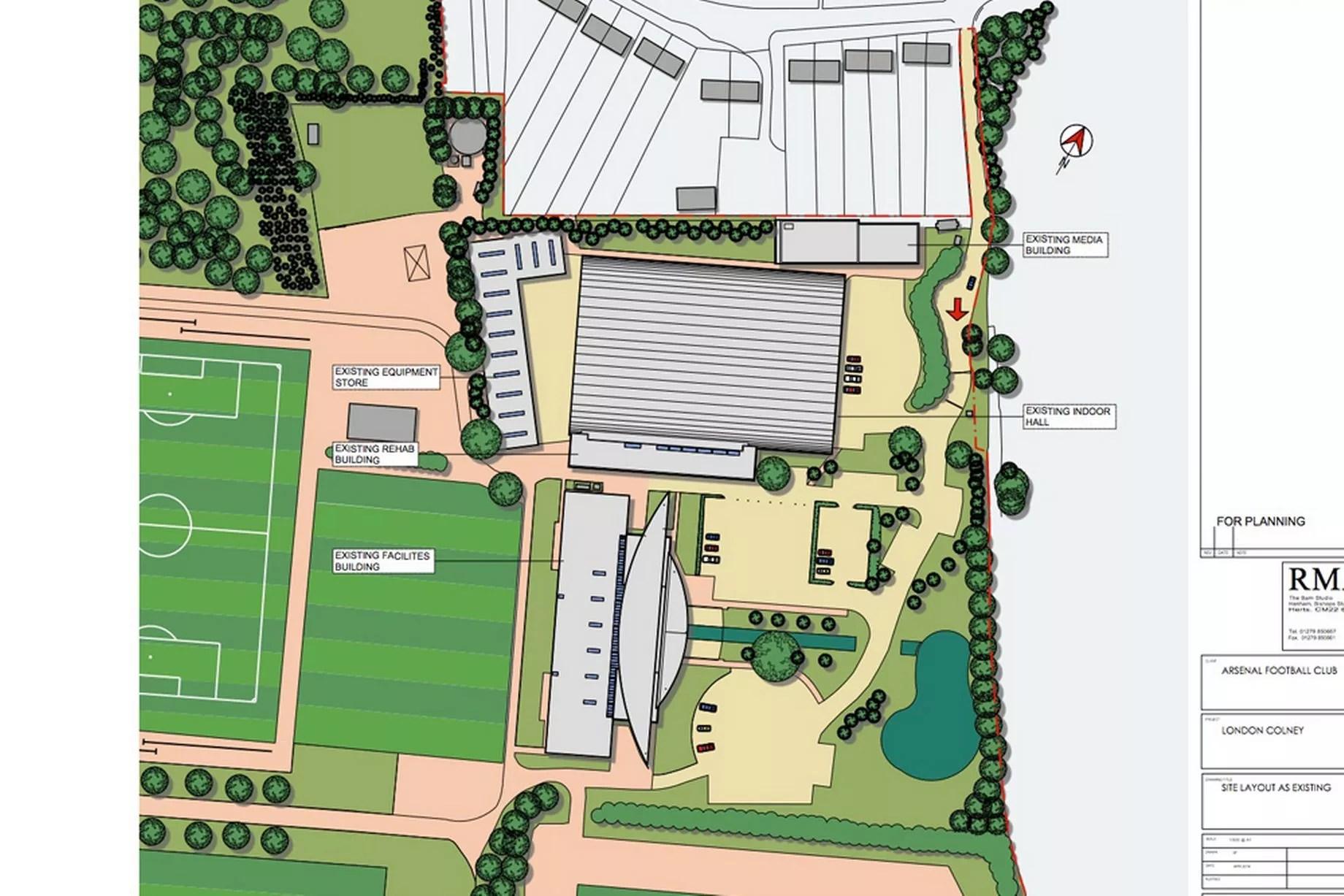 arsenal s training ground expansion