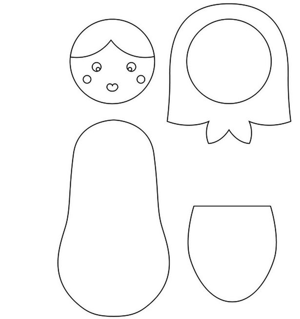 Thrifty ideas: How to make soft russian doll cushions