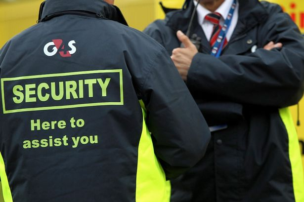 G4S security guards are handed redundancy letters while handcuffed to dangerous cons  Mirror Online