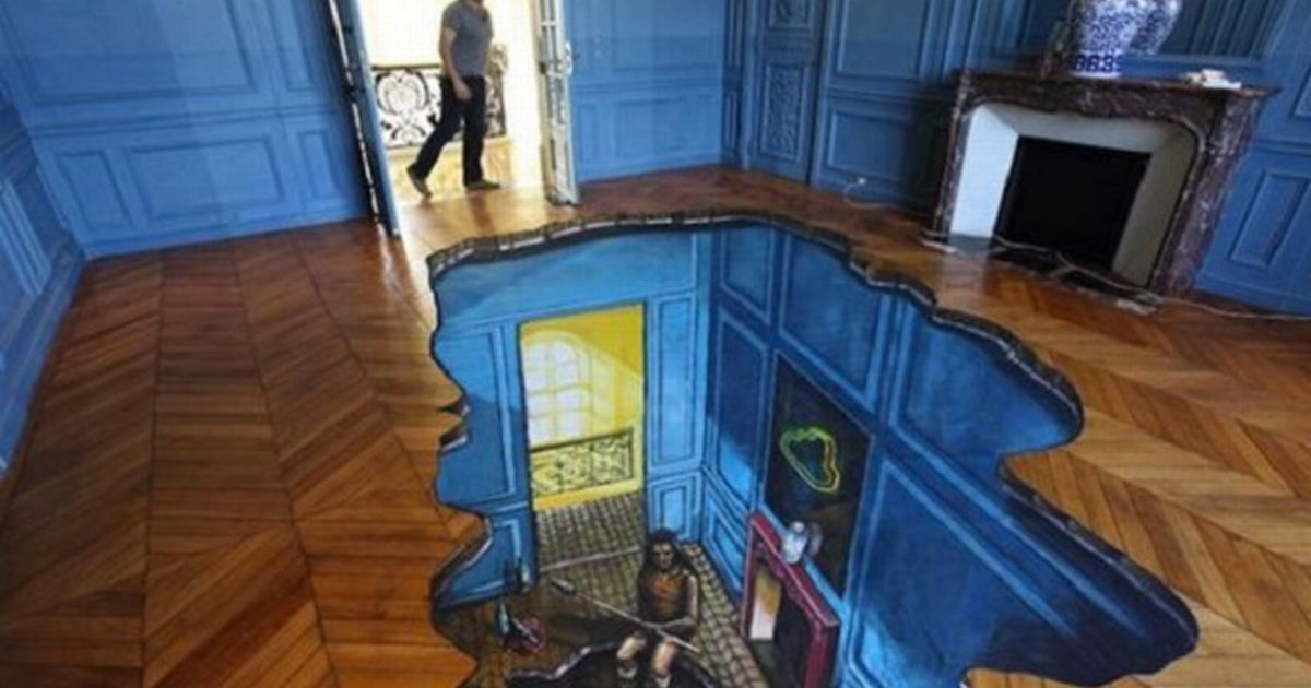 Falling Money 3d Live Wallpaper Incredible 3d Tiles Turn Kitchen And Bathroom Floors Into