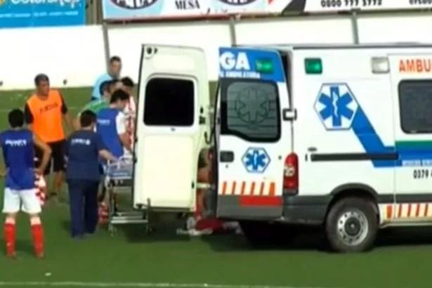 Argentine footballer Cristian Gomez dies after suffering suspected heart attack during game - Mirror Online