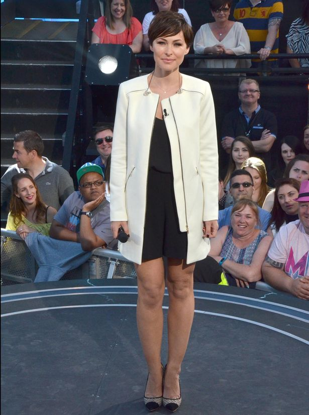 Emma Willis Gets Her Legs Out For Big Brother Eviction