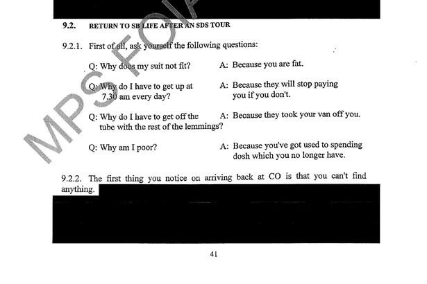 Police publish secret training manual telling undercover