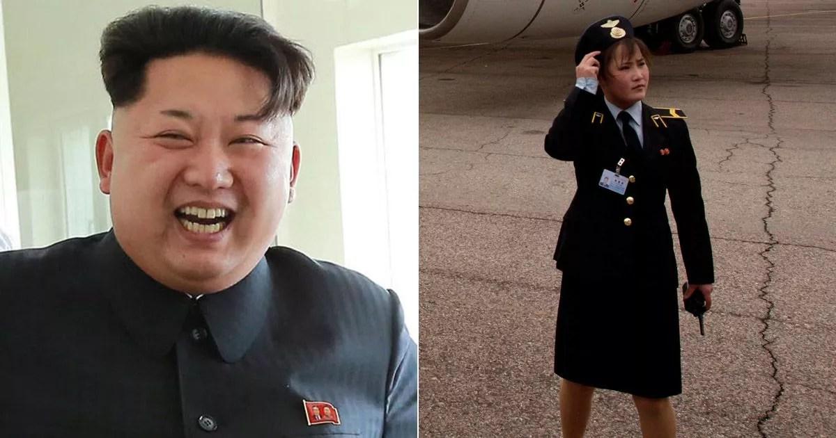 Kim Jongun orders North Korean airlines stewardesses to wear shorter tighter skirts  Mirror