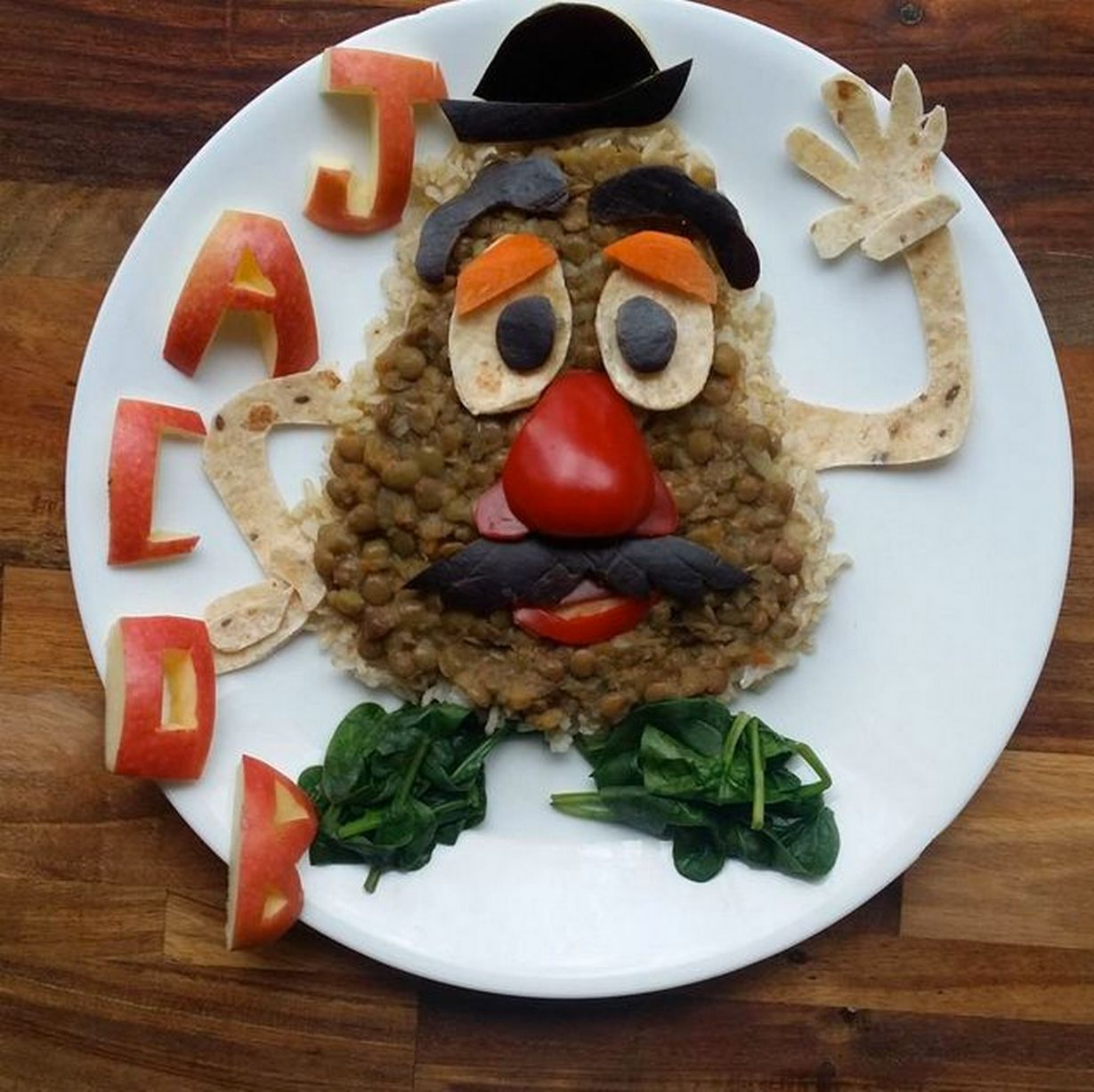 Mum Makes Healthy Food Fun For Toddler By Turning Meals