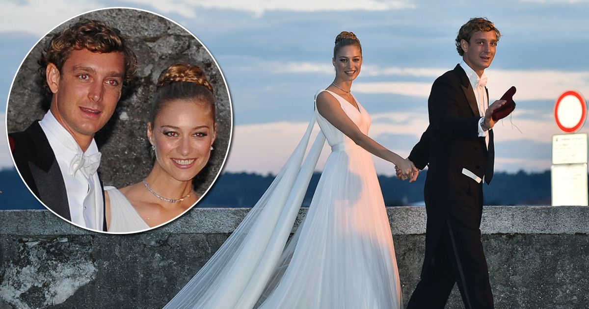 Monacos SECOND Royal wedding Pierre Casiraghi and