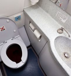 where does toilet waste go on a plane this is what happens when you hit the flush mirror online [ 1200 x 900 Pixel ]