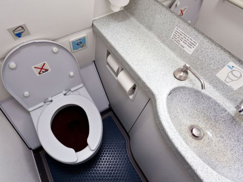 small resolution of where does toilet waste go on a plane this is what happens when you hit the flush mirror online