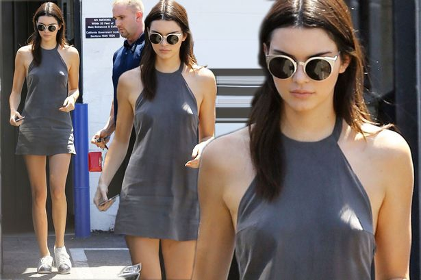 Kendall Jenner Shows Off Her Impressive Legs In A Tiny