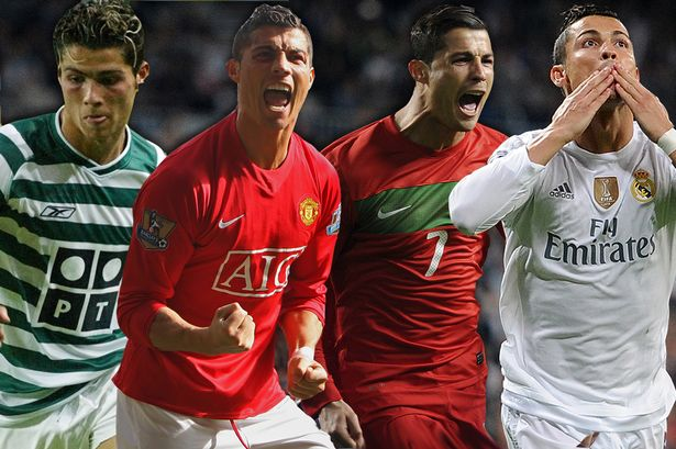 Image result for Ronaldo Sporting Lisbon to Real Madrid