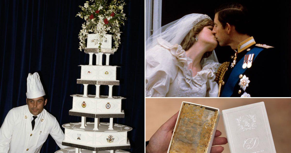 Princess Dianas Wedding Cake Set To Sell For 2600 And