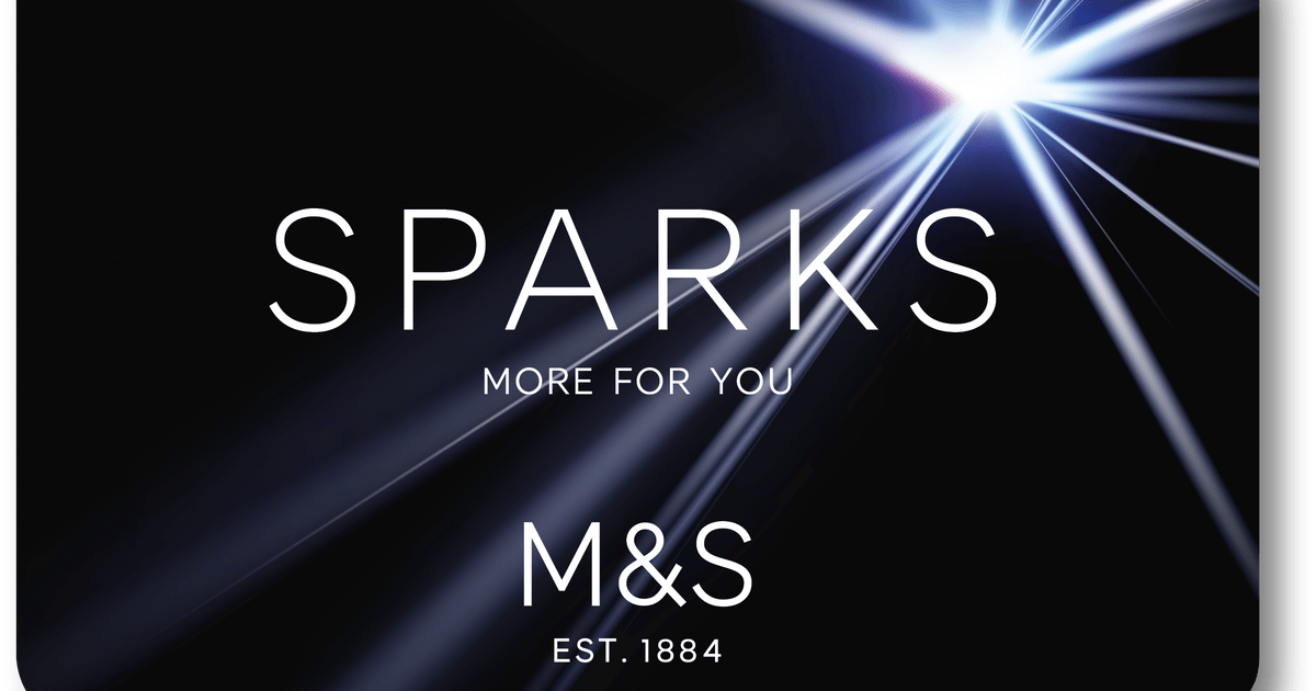 Marks Amp Spencer Launch Loyalty Card Sparks This Is How