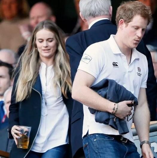 El príncipe Harry y Cressida Bonas
