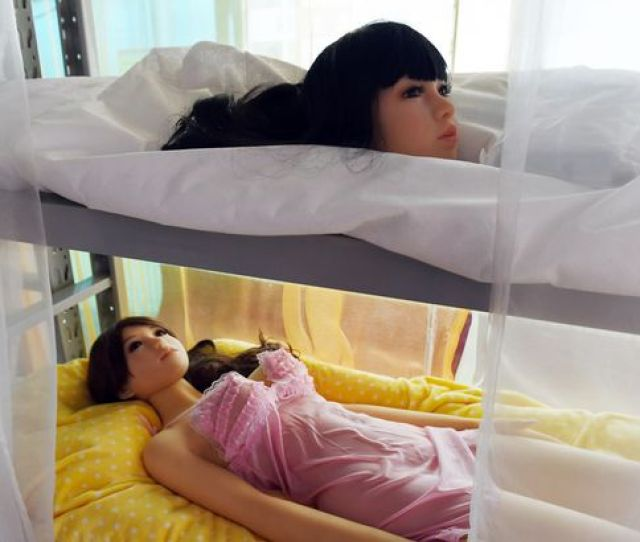 High End Sex Dolls On Display At The Micdolls Store In Beijing