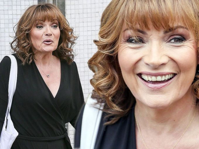 lorraine kelly shows off lighter hair and full makeover as