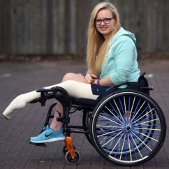 Wheelchair Nhs Swivel Chair With Footstool 'please Cut My Leg Off': Brave Sportswoman Begs Doctors For Amputation To End Agony - Mirror Online