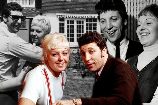 Image result for TOM JONES AND WIFE LINDA