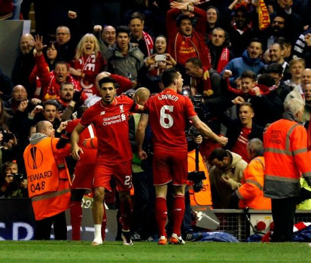 Liverpool   Borussia Dortmund Agg   Reds Produce Europa League Miracle In Anfield Thriller  Things We Learned Mirror Online