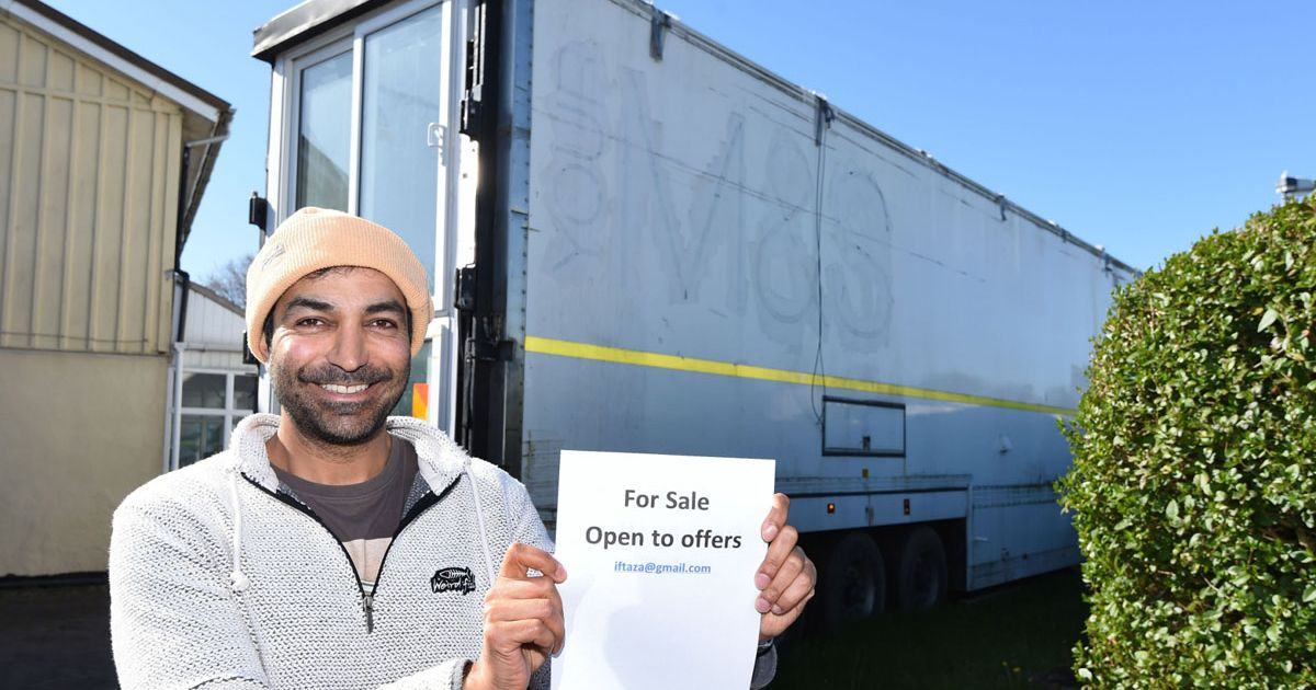 Dad spends 10000 converting MS lorry into 2 bedroom