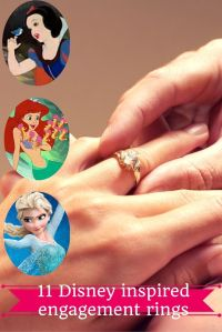 11 Disney-inspired engagement and wedding rings fit for a ...