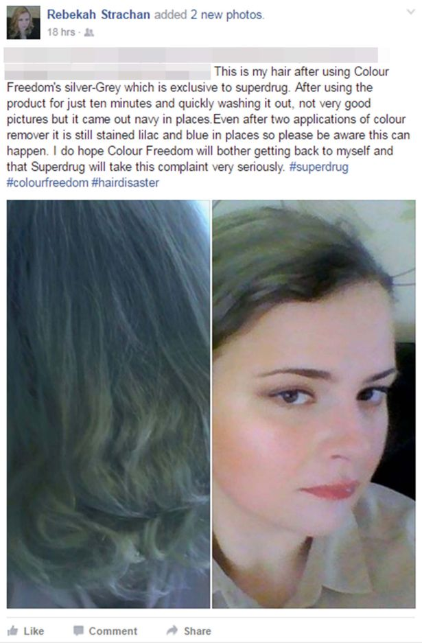 Wannabe Blonde Left With Permanent BLUE Hair After Dye Mix