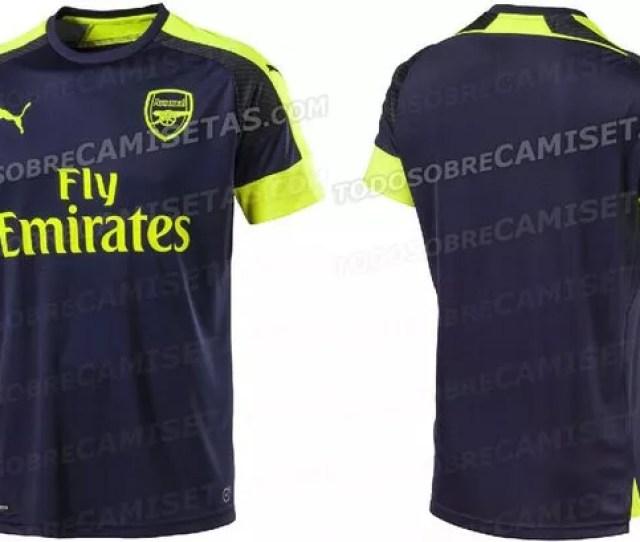 Arsenal Third Kit Leak