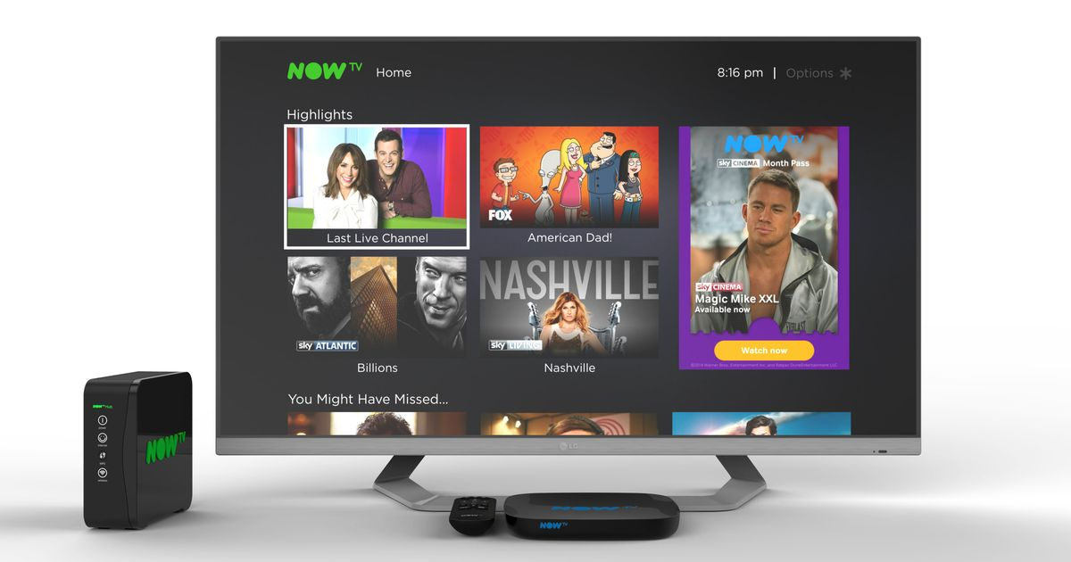 Sky adds Freeview to its Now TV settop box and launches
