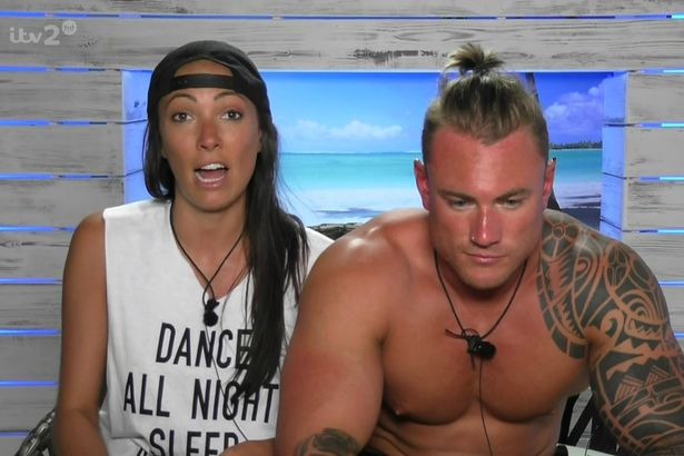 Sophie Gradon and Tom Powell